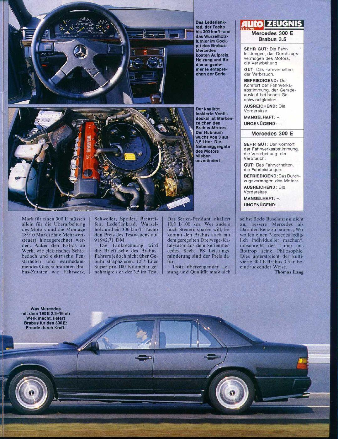 W124 Brabus Monoblock I