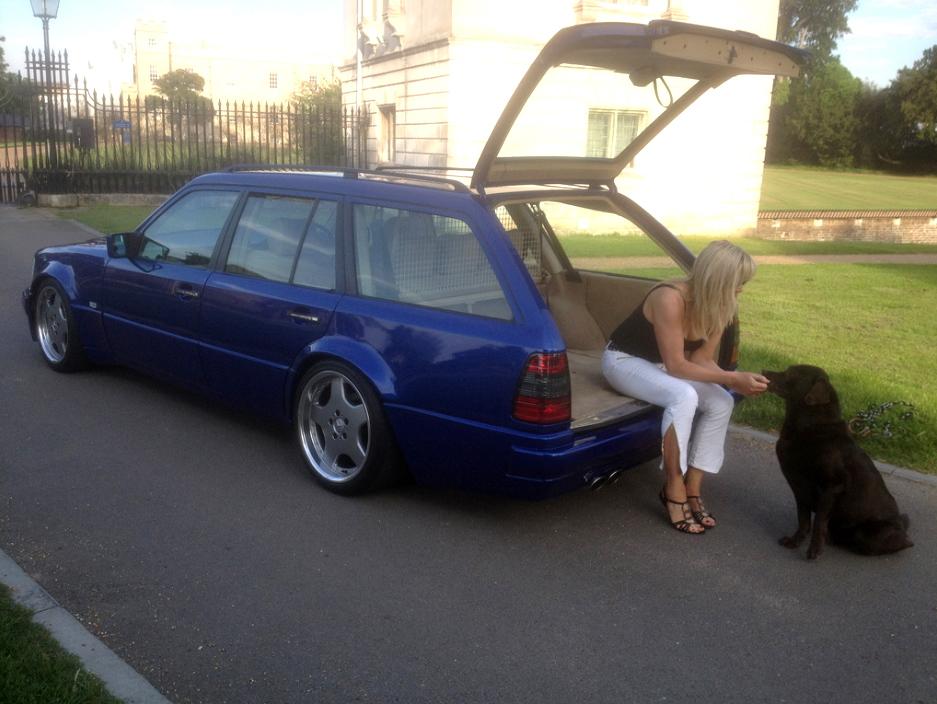 Mercedes W Kombi Tuning