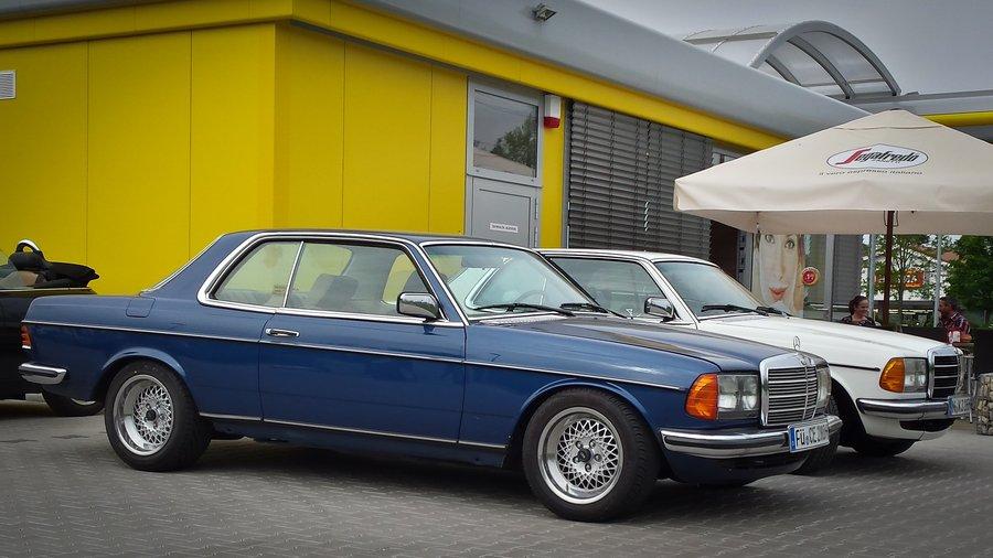 H/&R Federn für Mercedes W123 W123 D W123 C Tieferlegung